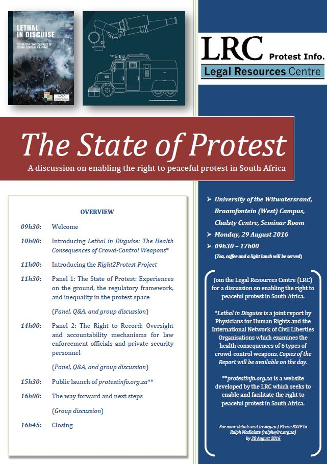 State of Protest